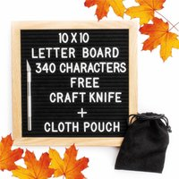 Con supporto Felt Letter Board con 360 caratteri Free Craft Knife e Pouch per Office Business Events e Social Media xmas Christmas hot