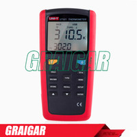 Wholesale usb gauges for sale - Group buy Contact Type Digital Thermometer UNI T UT321 with USB interface IR Handheld temperature gauge Type K J T E Resolution