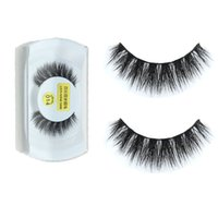 Wholesale Natural Hair Designs - 2016 30 designs Mink False Eyelashes makeup 100% Real Mink Natural Thick False Fake Eyelashes Eye Lashes Makeup Extension Beauty Tools