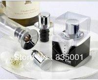 Wholesale Hats Off Bottle - wedding favor--Hats Off! Chrome Top Hat Wine Pourer Bottle Stopper
