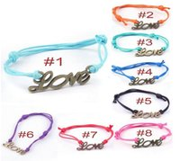 Wholesale Items One Direction - handmade One Direction infinity charm Leather bracelets and bangles jewelry gift items for men