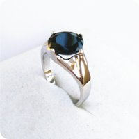 Wholesale Exquisite Stone - High Quality EXQUISITE 3.2CT NATURAL SAPPHIRE 14KT WHITE GOLD GEMSTONE RING -SW21