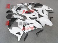 Wholesale White Zx14r - White black Injection Fairings Bodywork Set kit Kawasaki Ninja ZX14R 2012-2014 2