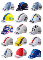 Wholesale Vintage Cycling Team - 2018 San pellegrino Retro Vintage Team Cycling Cap Vintage Eroica Molteni KAS