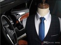 gravata vermelha do terno dos homens venda por atacado-laços dos Men Acessórios de Moda de Nova 8cm gravata de alta qualidade para casamento terno negócio Casual Preto Vermelho