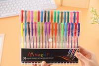 Wholesale Imagine Art - 36 Colors Gel Pen Imagine Create Artists Quality Perfect Art Micro Ink Pen Set