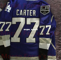 Wholesale Sale Kids Off - 50% off-Mens,Womens,Kids 77 Jeff Carter 32 QUICK 11 KOPITAR Custom Your Name&Numbers Dodgers LA Kings Blue White Hockey Jerseys On Sale