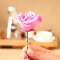 Wholesale Flower Icing Nails - Wholesale- New Flower Tool Icing Cream Nail DIY Bake Cake Cupcake Decorating Sugarcraft FM1118
