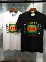 Wholesale New Modal - Brand new Hip Hop g&g winter men's t-shirt Short Sleeve 100% Cotton poloshirt shirt men teel hip 3g Designer mens t shirts