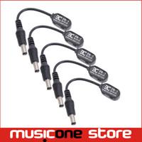 câble pour pédales achat en gros de-5 pcs ENO EX PD-1 Musical Accessoires Instrument Pièces Électrique Guitare Pédale D'effet Mini Câble D'alimentation MU0575