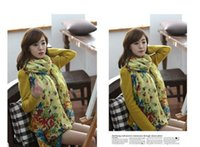 Wholesale Ponchos Shawls Wholesale Stock - 15Styles plus size 180*110 cm New Women's Fashion Georgette Long Wrap Shawl Beach voile Scarf Scarves Fashion Accessories IN STOCK 07 B