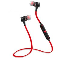 Wholesale Cordless Headsets - Bluetooth Earphone Wireless Headphone Sport Headset Magnetic Headset Auriculares Cordless Headphones Casque 10h Music Free Shipping
