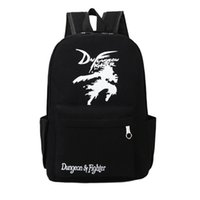 Wholesale Wholesale Fashion Korean School Bag - 2017 New Korean fashion A Game of Thrones men women designer backpack teenagers student school bag canvas travel bag