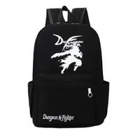 Wholesale Games Designers - 2017 New Korean fashion A Game of Thrones men women designer backpack teenagers student school bag canvas travel bag