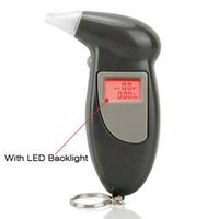 Wholesale Alcohol Analyser Tester - Wholesale-Hot Selling Alcohol Analyser Digital Breath Tester Breathalyser Z0043HUAHUA