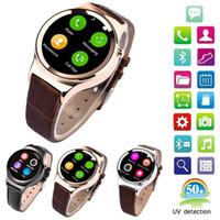 Wholesale Gps Watch Mp4 - 2015 Newest Smart Watch T4 Smartwatch Support SIM SD Card Bluetooth Sync GPS SMS MP3 MP4 USB For Android and iphone