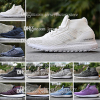Wholesale Cheap Mens Casual Shoes Sale - Cheap Best New Mens Ultra Boost ATR MID Trace Khaki Triple Black White Casual Shoes High Quality Real Sports Wholesale For Sale size 36-45