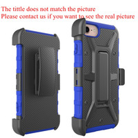 Wholesale Iphone 4s Cases Wholesale Cheap - For iPhone 4s 5s 5c 6s 7 Plus Shockproof Tpu Pc Hybrid OT Box Defender Luxury Cheap Case With Clip Opp Bag Free Shipping