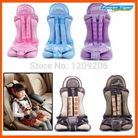 Wholesale Child Booster Seat Harness - Portable Baby Kids Infant Children Car Safety Booster Seat Cover Cushion Multi-Function chair Auto Harness Carrier