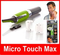 Wholesale Electric Men Shaver Trimmer - Micro Touch Max Hair Trimmer Groomer Remover Personal Ear Nose Neck Eyebrow Micro Touch Magic Max - Hair Groomer micro touch max men shaver