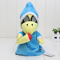"Wholesale Super Mario Bros Stuffed Animals - 28cm New Super Mario Bros. World Plush Magikoopa Kamek Soft plush Toy Stuffed Animal 11"" Retail"