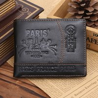Wholesale Leather Men Wallet Pattern - Hot Sale New Fashion Casual Business Style Men's Leather Wallet High-quality Design Patterns Famous Brand Credit Card Holder Men Wallet