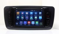 Wholesale Dvd Gps Seat - Android 5.1 Head Unit Car DVD Player for Seat Ibiza 2009 2010 2011 2012 2013 w  GPS Navigation Radio BT USB WIFI