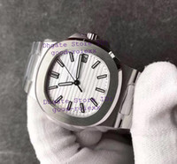 Wholesale Oval White Sapphire - Super MK Factory V4 Version Mens Automatic Cal.324 SC Watch White Dial Men Date Eta 5711-011 Miyota Waterproof Nautilus Full Steel Watches