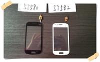 berühren samsung trend großhandel-Für Samsung GALAXY Trend Duos 2 S7582 S7580 Touchscreen Digitizer; Kostenloser Versand