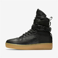 Wholesale Field Brown - Special Field SF AF1 Mid Running Shoes For Men and Women 9 Color Sports Shoes SF AF1 Athletic Sport Trainers 36-45