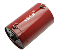 Wholesale Aker Amplifier - Accessories Parts Speakers Free shipping!!Brand AKER Ak38 Waistband Portable PA Voice Amplifier Booster MP3 Speaker Red