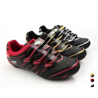 Wholesale Shoe Bike Carbon - WEST BIKING Cycling Shoes Road Racing Bike Carbon Nylon-fiberglass Soles Riding Professional Athletic 3 Colours Bicycle Shoes