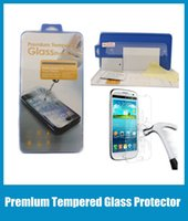 Wholesale Dhl Neo - Iphone6 6 plus Tempered Glass Film Explosion Proof Screen Protector For iphone 4 4s 5 5s 5c 6 6+ Samsung S3 S4 S5 Note neo DHL free SSC005