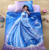 organic linen sheets - Promotions Organic Cotton Cool Designer D Bed Linen Cinderella Kids Bedding Set D Comforter Set Girls Anime Bed Sheets Cute B