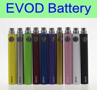 Wholesale mini ce5 cigarette electronics resale online - EVOD battery mAh mAh mAh electronic cigarette battery eGo e cigarettes for MT3 CE4 CE5 MINI PROTANK atomizer