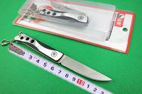 ingrosso coltello da tasca boker-Lupo 1863 piccolo coltello pieghevole, lama 440C 56HRC, punto goccia, raso, coltelli da tasca EDC