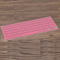Silicone Anti-dust Ultra-thin Laptop Keyboard Protective Film Cover Sticker Skin US Layout para MacBook Pro 15.4