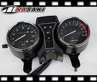 Wholesale Suzuki Speedometers - FREE SHIPPING Suzuki GN 250 GN250 Speedometer & Tachometer Complete Clocks Gauges