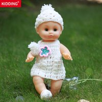 Wholesale Newborn Clothes China - 30 cm handmade sweater clothes vinyl doll gift to children