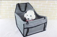 Pet Dog Carrier Car Seat Pad Sicuro Carry House Cat Puppy Bag Car Travel Accessori Impermeabile Dog Bag Basket Pet Products