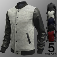 Wholesale Stand For Jackets - Jackets for Men Baseball Jackets New Arrival Designer Fashion Jacket British Style Mens Summer Baseball Coats Bomber Jackets Baseball Jacket