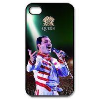 Wholesale S4 Mini Mercury Case - Freddie Mercury Queen phone case for iPhone 4s 5s 5c 6 6s Plus ipod touch 4 5 6 Samsung Galaxy s2 s3 s4 s5 mini s6 edge plus Note 2 3 4 5