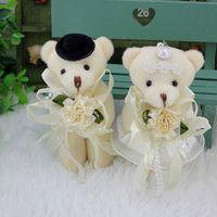 Wholesale Bear Bag Gift - Wholesale Wedding Gift,Lovers Plush Bear,Luxury Brand Wedding Bear Couple Bears,Decoration for Wedding Car,Bags Clothes Pendant