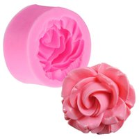 Wholesale Rose Flower Silicone Cake Mold Baking Chocolate Fondant Cake Sugarcraft D Cutter DIY Christmas Kitchen Tools