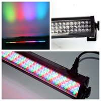 10 PC / porción Moka MK-LW06 252 * 10MM LED Wash luz de pared / Led Bar Light / Dj Stage Lighting