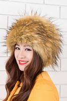 Wholesale Grey Fox Fur Warm - 2016 New Winter Hat Lady high-quality imitation fur hat fox fur warm hat
