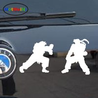 Wholesale Wall Sticker Wholesale China - Wholesale Vinyl Decals Car Stickers Glass Stickers Scratches Stickers Wall Die Cut Bumper Accessories Jdm Classic China Kung Fu Fighting