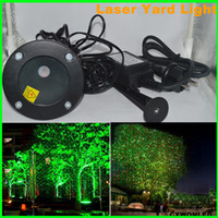 ingrosso luci laser da giardino-Due colori più nuovo impermeabile Home Garden Yard Outdoor Landscape Luce laser decorativa per palco, discoteca, club, luce della festa nuziale