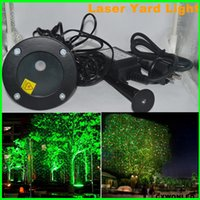 Wholesale Decorative Lighting Yards - Two colors newest waterproof Home Garden Yard Outdoor Landscape Decorative laser light for stage,disco ,club,wedding party light