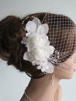 ingrosso stordimento dei capelli nozze-Beautiful Pearls Diademi nuziali Copricapo da sposa Accessori da sposa da sposa mozzafiato
